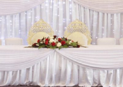 wedding celebration marquee hire