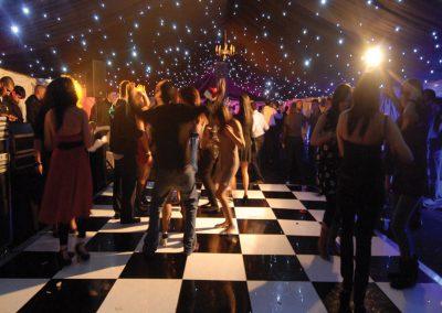 marquee dancefloor wakefield hire