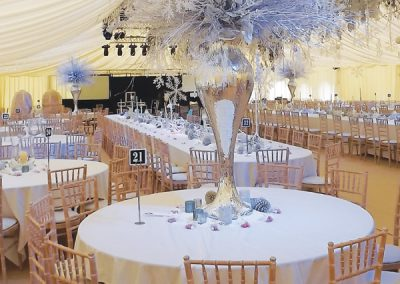 winter interior marquee design