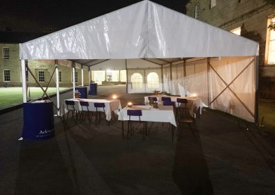 candle lit marquees