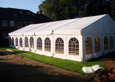 marquee with large dance floor
