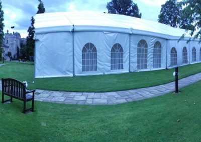 wedding marquees that fit in gardens